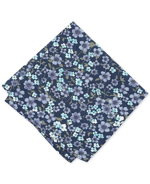 f8cd130fcd2a Bar III Men's Calbira Floral Pocket Square, Created for Macy's ...