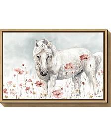 Amanti Art Wild Horses II by Lisa Audit Canvas Framed Art