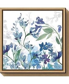 Amanti Art Colors of the Garden III Cool Shadows Canvas Framed Art