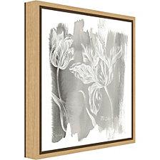 Amanti Art Water Wash I Neutral Floral by Sue Schlabach Canvas Framed Art