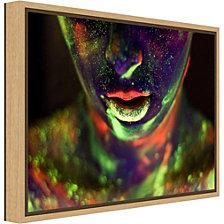 Amanti Art Alices World by Dogan Kokdemir Canvas Framed Art
