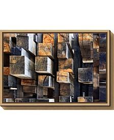 Amanti Art New Oak City by Francois Casanova Canvas Framed Art