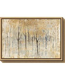 Seasons End Gold by Avery Tillmon Canvas Framed Art