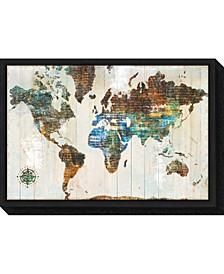 World of Wonders by Sue Schlabach Canvas Framed Art