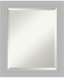 Amanti Art Blanco 40x28 Wall Mirror