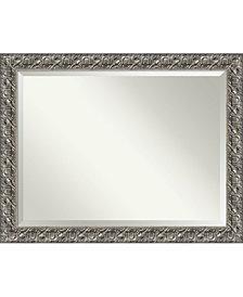 Amanti Art Rustic Pine 33x27 Wall Mirror