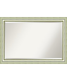 Amanti Art Vegas Curved 41x29 Bathroom Mirror