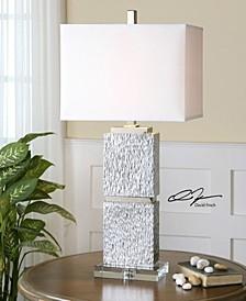 Eumelia Silver Table Lamp