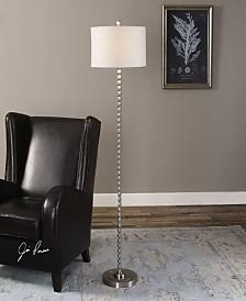 Uttermost Sherise Beaded Nickel Floor Lamp