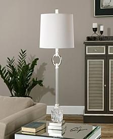 Bordolano Polished Nickel Buffet Lamp