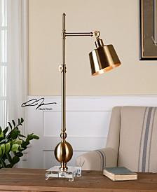 Uttermost Laton Brushed Brass Task Lamp