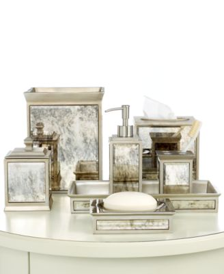 Bathroom Vanity Accessories kassatex bath accessories, palazzo vanity tray - bathroom