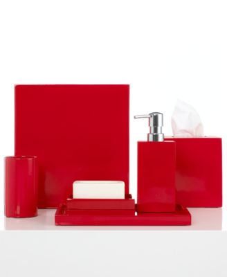 Bathroom Accessories Red red bathroom accessories - macy's