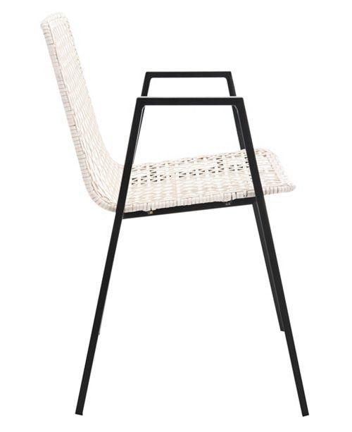 Strange Taika Woven Leather Dining Chair Theyellowbook Wood Chair Design Ideas Theyellowbookinfo