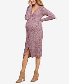 Jessica Simpson Maternity Wrap Dress