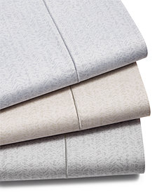 Hotel Collection Herringbone Cotton 525 Thread Count Sheet Set, Created for Macy's