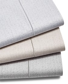 CLOSEOUT! Hotel Collection Herringbone Cotton 525 Thread Count Sheet Set, Created for Macy's