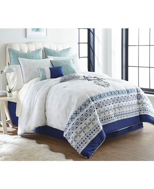 Nanshing April 12 PC Comforter Set, Queen
