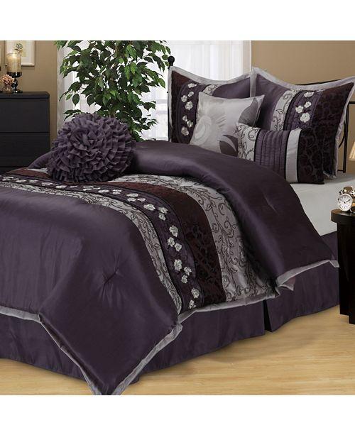 Nanshing Riley 7 PC Comforter Set, California King