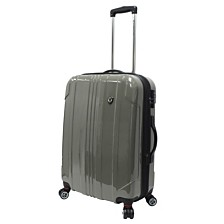 "Traveler's Choice Sedona 100% Pure Polycarbonate 25"" Expandable Spinner Luggage"