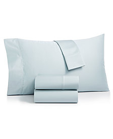 Charter Club Sleep Luxe Solid Standard Pillowcase Pair, 700 Thread Count Egyptian Cotton, Created for Macy's