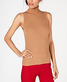 Anne Klein Sleeveless Turtleneck Sweater