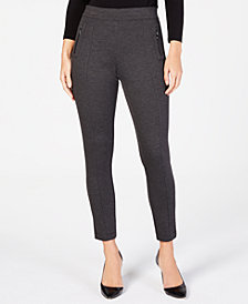 Anne Klein Twill Skinny Pants