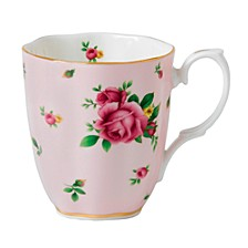 New Country Roses Pink Vintage Mug