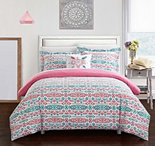 Malina 4 Pc Full Duvet Cover Set