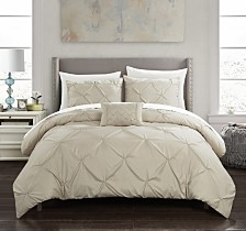 Chic Home Daya 4-Pc. Duvet Cover Sets