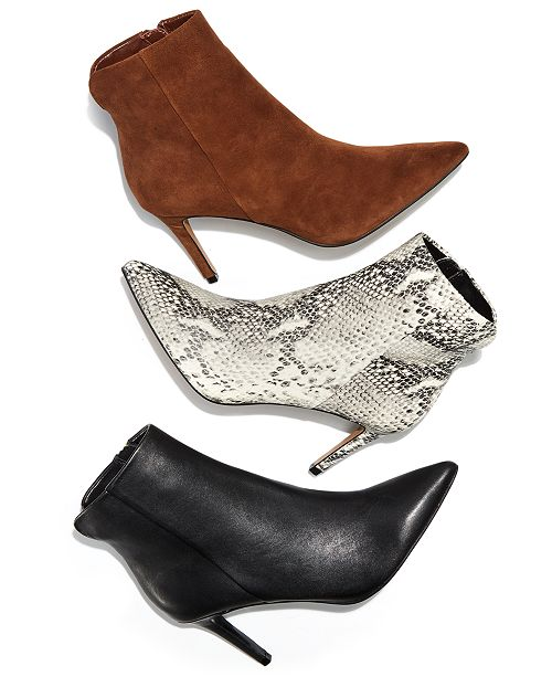 914d42513 STEVEN by Steve Madden Leila Booties & Reviews - Boots - Shoes - Macy's
