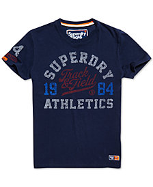 Superdry Men's Track & Field Graphic T-Shirt
