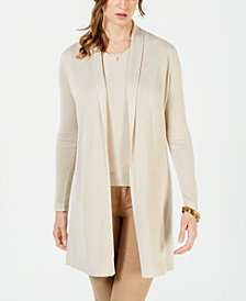 Charter Club Metallic Cardigan, Created for Macy's