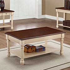 Maggie Transitional Coffee Table