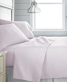 Home Collection 300 Thread Count 4 Piece Bed Sheet Set - 100% Cotton, Full