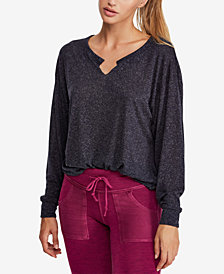 Free People Vixen Dolman-Sleeve Top