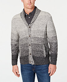 Tommy Bahama Men's Cerro Alto Ombré Stripe Shawl-Collar Cardigan