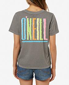 O'Neill Juniors' Totally Cotton Graphic-Print T-Shirt