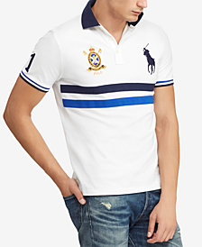 Polo Ralph Lauren Men's Slim Fit Mesh Polo, Created for Macy's