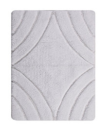 Diamond 17x24 Cotton Bath Rug