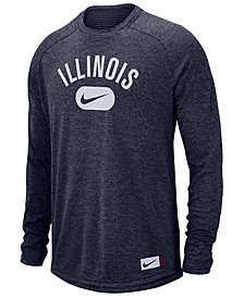 Nike Men's Illinois Fighting Illini Stadium Long Sleeve T-Shirt