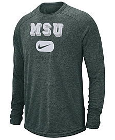 Nike Men's Michigan State Spartans Stadium Long Sleeve T-Shirt
