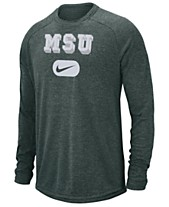 ab736bfaa85 Nike Men s Michigan State Spartans Stadium Long Sleeve T-Shirt