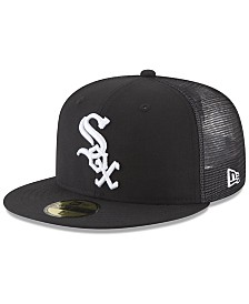 New Era Chicago White Sox On-Field Mesh Back 59FIFTY Fitted Cap