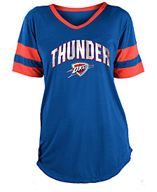 5th & Ocean Women's Oklahoma City Thunder Mesh T-Shirt