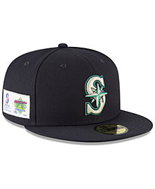 New Era Seattle Mariners Jersey Custom 59FIFTY Fitted Cap