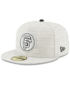 San Francisco Giants Team Out Heather 59FIFTY Fitted Cap
