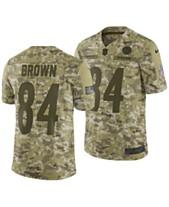 aa6361969 Nike Men s Antonio Brown Pittsburgh Steelers Salute To Service Jersey 2018