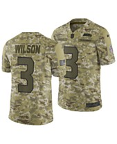 Nike Men s Russell Wilson Seattle Seahawks Salute To Service Jersey 2018 980eb2a81