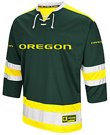Colosseum Men's Oregon Ducks Fashion Hockey Jersey